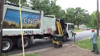 City of Tyler: Crane Carrier CNG Heil MultiPack