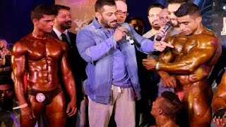 Salman Khan At Bodybuilding Competition - BodyPower Expo 2016
