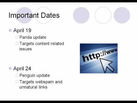 The Google Penguin Update Part 1 - Overview and Analysis of Sites