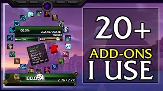 ADDONS - 20+ Add-ons I Recommend for World of Warcraft
