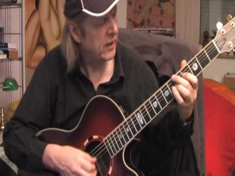 Gypsy Swing ( Remember Django Reinhardt ) Guitar Lesson By Siggi Mertens