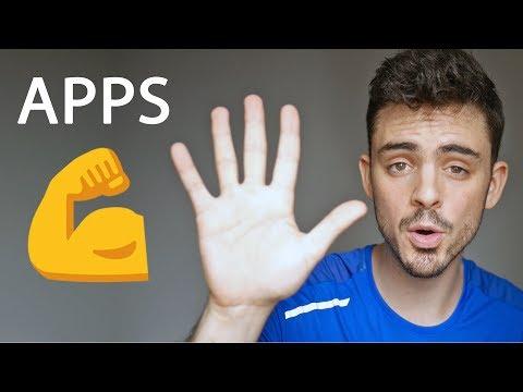 TOP 5 MEJORES aplicaciones para ESTAR en FORMA en Android y iOS