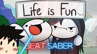 Beat Saber - Life is Fun - Ft. Boyinaband (TheOdd1sOut) - (Full Combo - Expert)