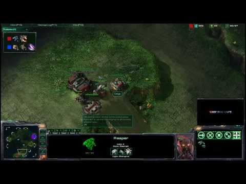 HD Starcraft 2 Check v Cargo p1/2 Video