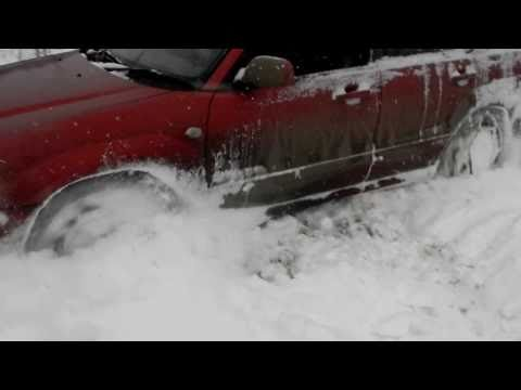 0 forester offroad with snow chains