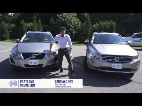 Volvo XC60 2013 and 2014 Model Design Comparisons Presented by Portland Volvo