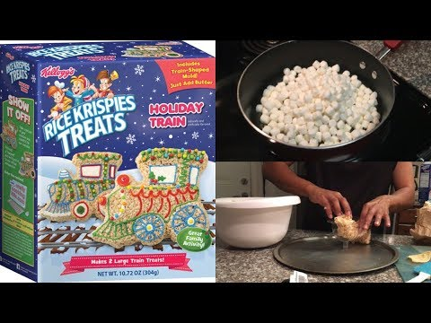 We built a rice krispy christmas train? *EPIC FAIL*