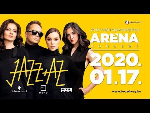 JAZZ+AZ - ARÉNA koncert 2020. január 17.