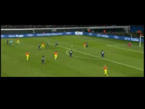 Thiago Silva Vs Barcelona