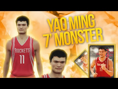 NBA 2K15 My Team YAO MING IS HERE! 7 FOOT MONSTER!