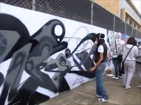 Modacalle zapatillas deportivas Peru Concurso de grafitis en Colombia.mp4