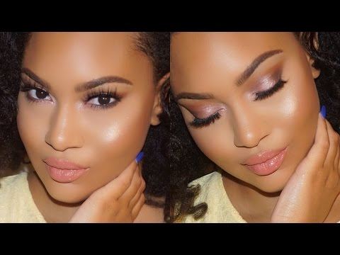 WEEKEND INSPIRATION! Makeup Get Ready With Me: Soft Rosy Smokey Eye Makeup