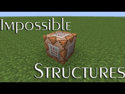 Minecraft Concept Impossible Structures