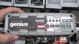 Noco Genius G3500 Battery Charger Review
