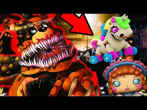 NEW TWISTED CREATURES AND FNAF 6 TOYS REVEALED..   Five Nights at Freddys Twisted Animatronics