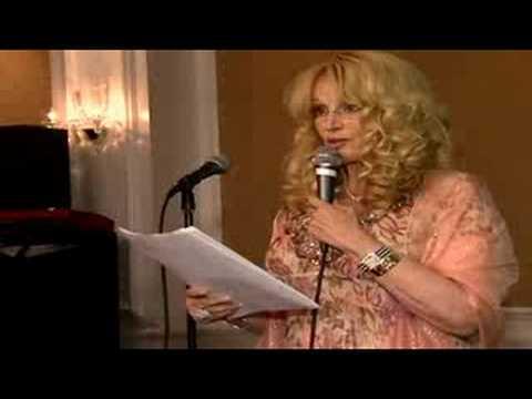 Harriet recites poem for Sandy