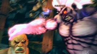 Super Street Fighter 4 IV AE PC Oni Playthrough + Secret Evil Ryu Boss fight 1/2