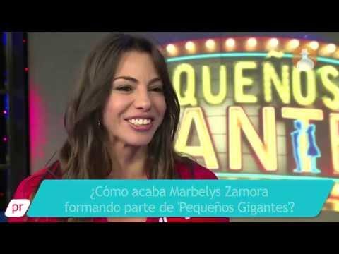 Marbelys Zamora: 'En 'Pequeños gigantes' por suerte no me toca juzgar'