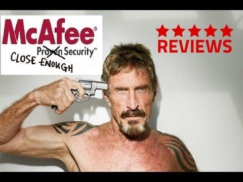Mcafee Internet Security Anti Virus 2014 Review With John Mcafee's Opinion