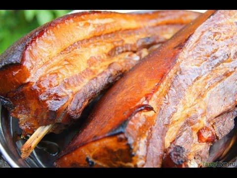 Копчение мяса в коптильне в домашних условиях