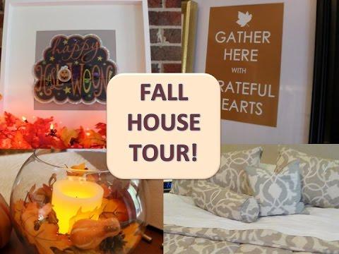 MINI HOUSE TOUR & DOLLAR TREE FALL DECOR!
