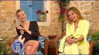 Mamma Mia! 2 Exclusive: Amanda Seyfried, Lily James & Dominic Cooper | Studio 10