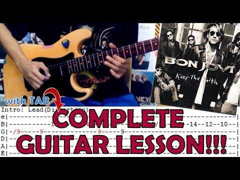 Bon Jovi Always Complete Guitar Cover Music Playlist