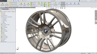 Solidworks tutorial | sketch Wheel Rim in Solidworks