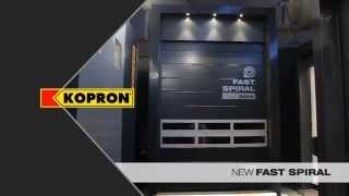 FAST COLD:Innovative High-tech speed doors for food industry - kopron