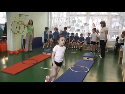 Спортивная эстафета - Детский сад №1212