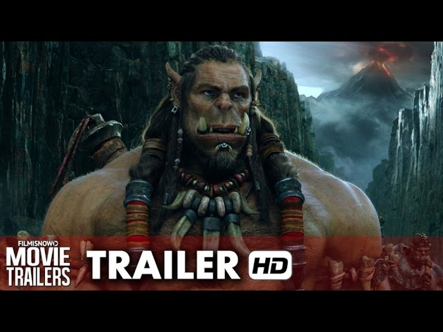 Warcraft Official Trailer (2016) - Duncan Jones Movie [HD]