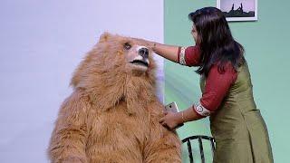 Thakarppan Comedy | I'm not a Bear...I'm your husband! | Mazhavil Manorama