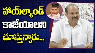 YCP Leader Parthasarathy Press Meet on Agrigold Assets Auction Issue | NTV