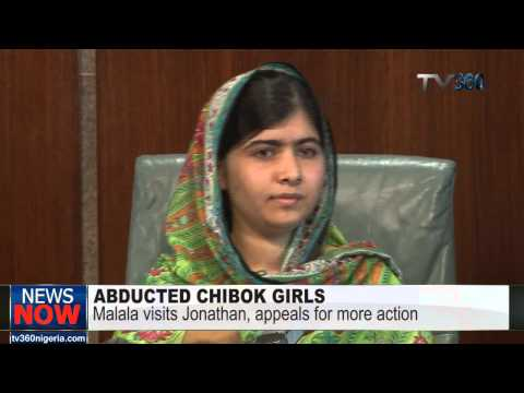What Malala and President Jonathan discussed