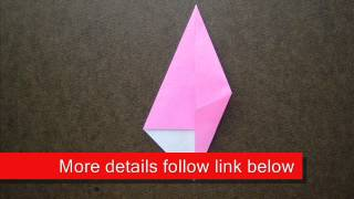 How To Fold Origami Woodpecker - Origamiinstruction.com