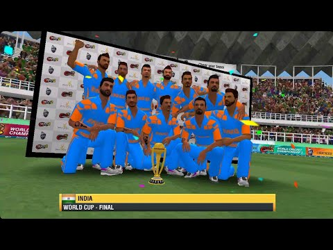 wcc2- update 2018 world cup final match gameplay (India VS Australia)