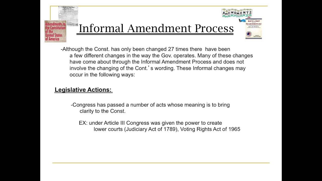 amendment notes ap govt