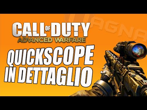 CoD Advanced Warfare: Come fare Quickscope facili
