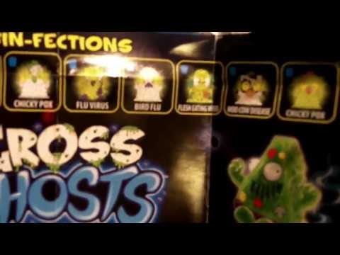Trash Pack Gross Ghosts Series Review Part 1 - 12 Pack unboxing