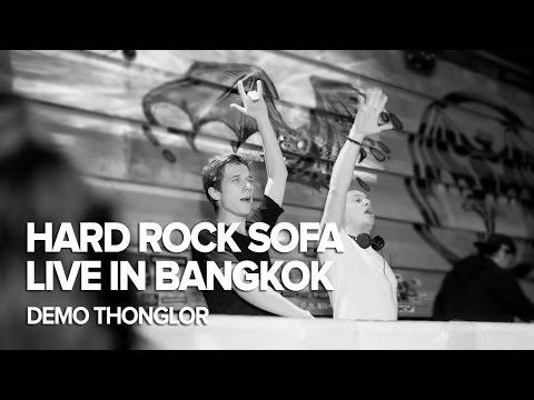 HARD ROCK SOFA Live In Bangkok at DEMO Thonglor
