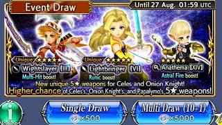 Dissidia Final Fantasy Opera Omnia - Celes - Global Banner