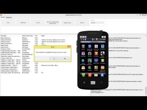 Como obtener acceso Root a Smartphone android (LG Optimus Hub E510)  con SuperOneClick