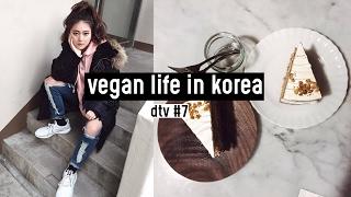 Vegan life in Korea: Plant Cafe, March Rabbit Salad + Leferi Beauty Entertainment | DTV #7