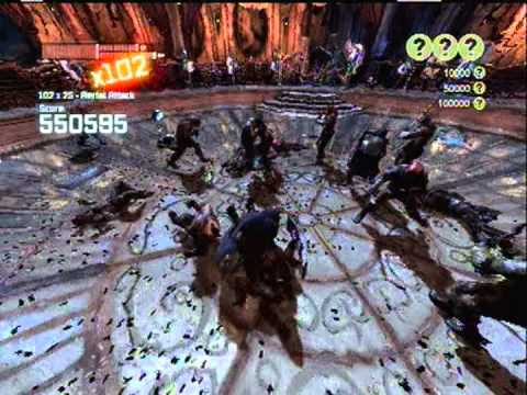 Batman Arkham City - Robin Gameplay - Iceberg Lounge Challenge Map - 1,337,615