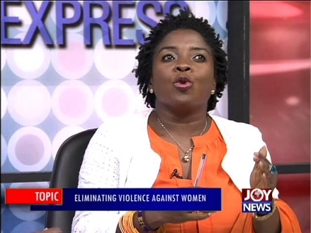 Eliminating Violence Against Women - PM Express on Joy News (25-11-15)