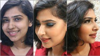 #Makeover Series - I gave my best friend a makeover | Blue Smokey Eyes | Divya Katna