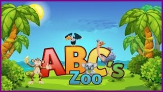 ABC Zoo funny alphabet and Animals video