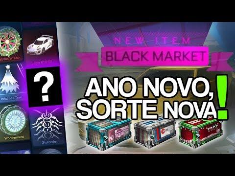 COMEÇANDO O ANO COM MUITA SORTE?! | ABRINDO CAIXAS NO ROCKET LEAGUE (Crate Opening)