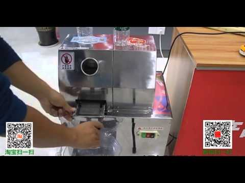 new type electric stainless steel 304 sugarcane juicer