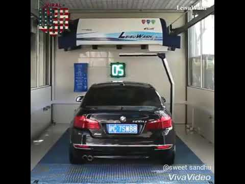 Magic wash 360 New technology of car wash